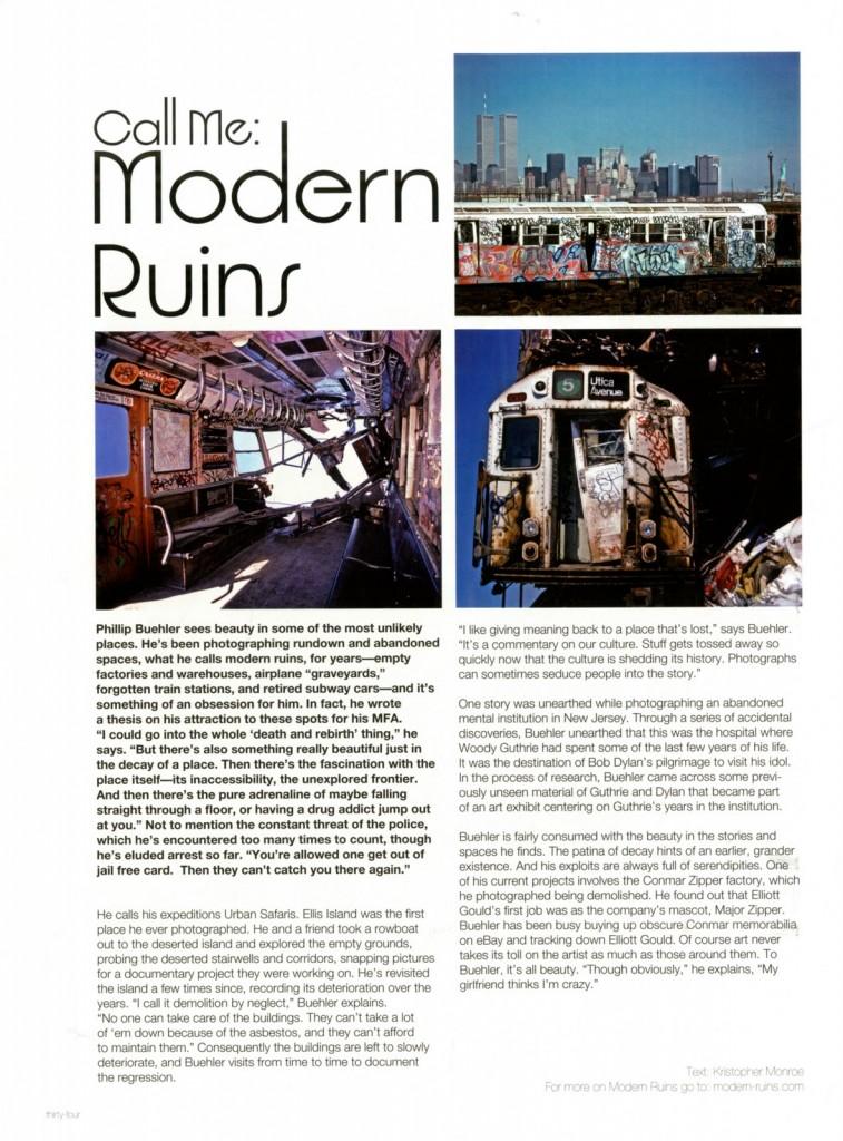 Modern Ruins_BD 2005_N